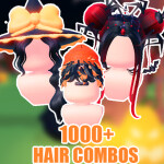 👻[1000+] Hair combo store [TRY ON + PURCHASE!]
